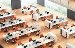 muebles espacios trabajo colectivo