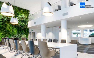 Beneficios de la decoración vegetal en oficinas y hostelería