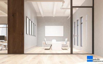 Mamparas, una solución eficaz para la división de espacios